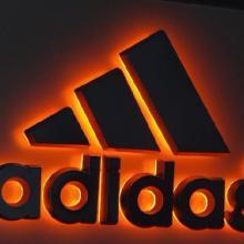 供应adidas发光标识/LED招牌