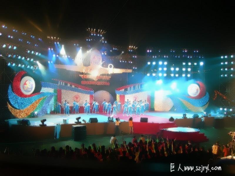 供应中山大型舞台灯光音响器材租赁公司