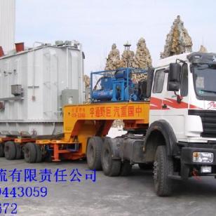 西安到上海物流运输公司货运专线图片