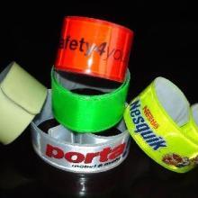 供应反光手腕带反光材料反光晶格反光制品批发