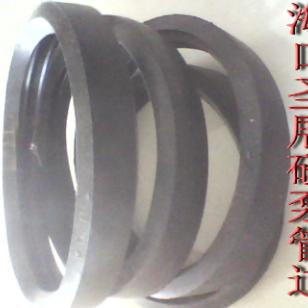 海南混凝土输送橡胶胶圈经销商图片