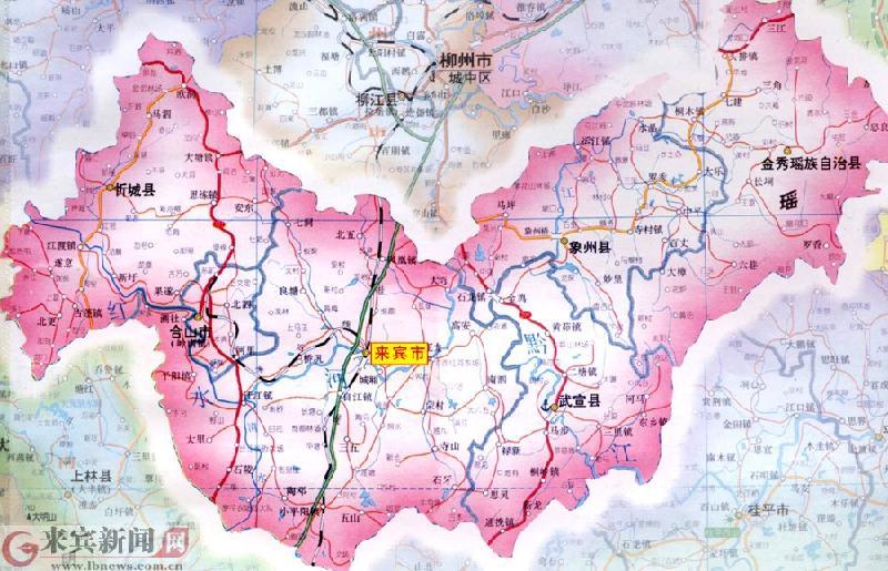 限公司生产供应来宾地图