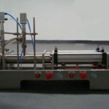 供应半自动气动灌装机洗发水灌装设备图片