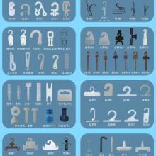 供应深圳、佛山等地各种挂钩、尼龙扎带,自锁式、可解式、插销式扎带