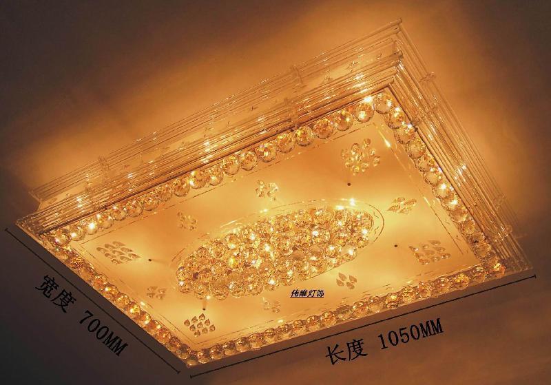 客厅灯水晶方