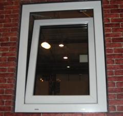 铝合金内开上悬窗图片