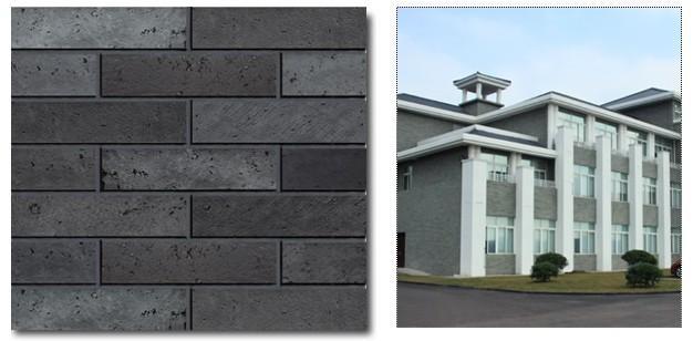 环保的mcm劈开砖复古青砖图片