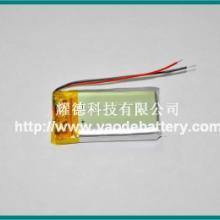 供应小型号mp3 蓝牙耳机用3.7V120mAH锂电池小型号mp