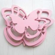 蝴蝶形立体墙贴图片