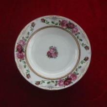 供应骨质瓷彩瓷餐具散件8寸汤盘,菜盘,家居餐具用品,健康环保瓷