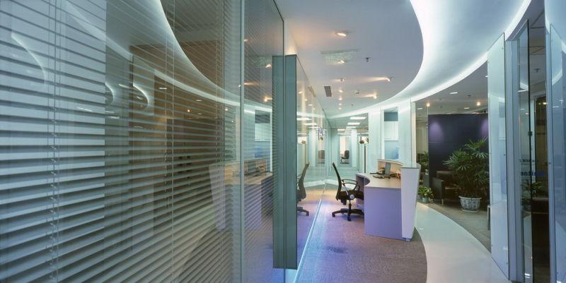 专业的玻璃隔墙/玻璃门设计装饰图片图片