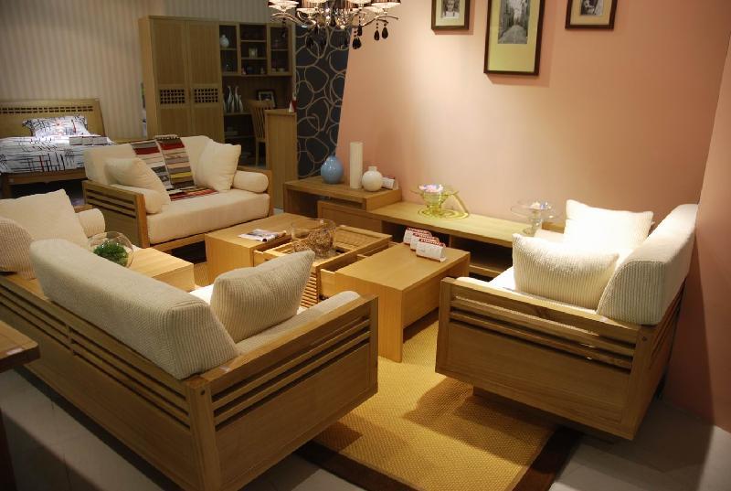实木沙发图片 实木沙发样板图 实木沙发 北欧篱笆家具