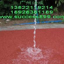 供应30厚透水混凝土地坪施工/彩色生态地坪/生态混凝土图片
