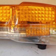 供应黄色工程画顶灯工程车长排灯批发