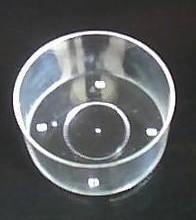 供应工艺塑料蜡烛器皿蜡烛筒