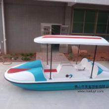 脚踏船 玻璃钢脚踏船 公园船踏船 休闲观光船 电动船 手划船 图片