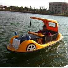 供应2014年新款4人老爷船、公园电动船、电瓶船生产厂