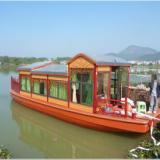 画舫仿古船玻璃钢仿古船游览船观光船休闲观光船