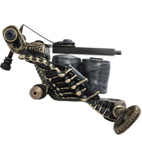 纹身机图片|纹身机样板图|jbp-013铜铸手工纹身机-盆