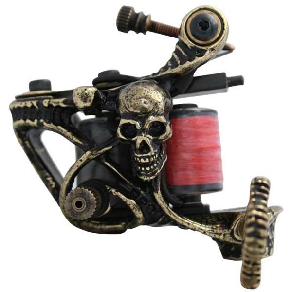 纹身机图片|纹身机样板图|jbp-001铜铸手工纹身机-盆