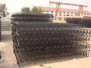 供应温州镀锌带文氏管除尘袋笼|除尘器骨架厂家