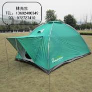 交叉铝杆双层野营户外帐篷图片