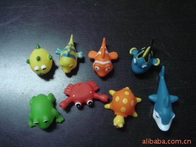 供应搪胶海豚公仔,搪胶海洋成