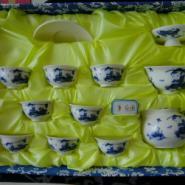 童乐图10头青花功夫茶具反口杯套装图片