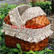 木片编织工艺品图片