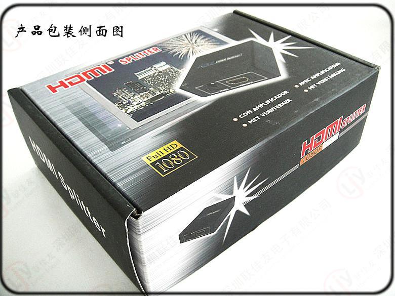 分配器图片 分配器样板图 1x2HDMI分配器一进二出 联佳友...