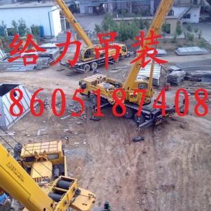 杭州履带吊出租50吨100吨200吨图片