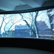专业的投影拼接大屏幕融合环幕投影图片
