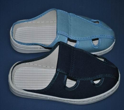 布拖鞋图片|布拖鞋样板图|防静电帆布拖鞋-深圳科