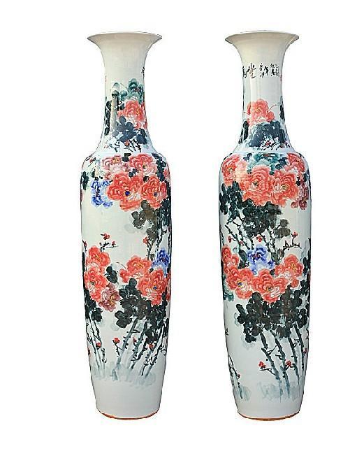 陶瓷花瓶图片 陶瓷花瓶样板图 落地花瓶陶瓷花瓶厂家陶瓷...