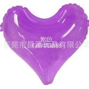 PVC充气U型枕头/充气心型枕头/图片
