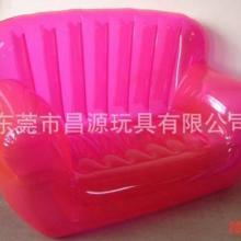 供应PVC充气U型沙发/充气U型单人沙发/