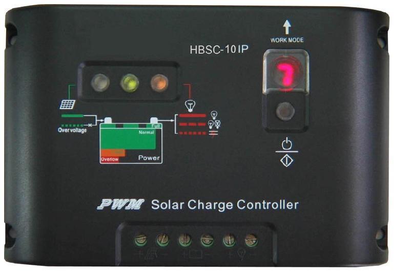 太阳能系统中太阳能控制器逆变器等连接示意图