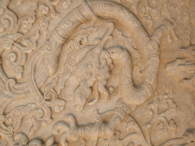 仿古石雕纯手工制作精品浮雕图片