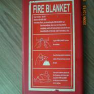 PVC硬盒装灭火毯图片