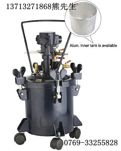 供应涂装压力桶40公升液体压力桶自动搅拌压力桶