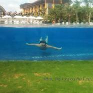 供应透明亚克力游泳池价格,上海透明亚克力游泳池供应商