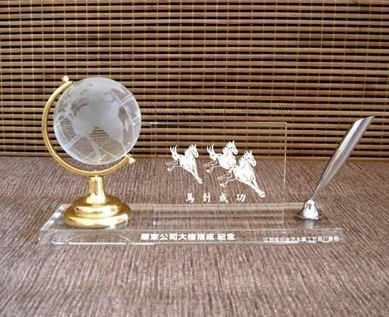 水晶摆件合作伙伴纪念品企业交流会纪念品