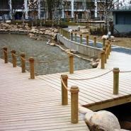 湖南防腐木地板系列图片