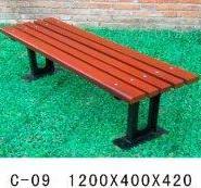 防腐木公园椅图片
