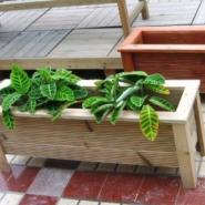 湖南好看的防腐木花箱制作图片