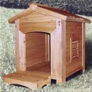 长沙防腐木宠物小屋图片