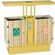 防腐木垃圾桶厂家图片