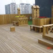 湖南长沙防腐木地板图片