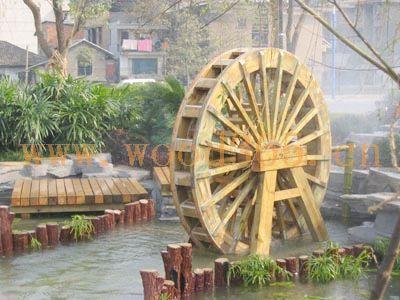 供应湖南长沙防腐木水车、湖南长沙防腐木水车生产厂家