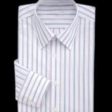 供应衬衫长袖衬衫男春秋竖条显瘦男士衬衫 方领男式白领衬衣白色衬衫